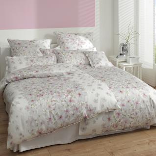 Elegante Comfort-Satin Bettwäsche Deauville 2133-0 weiß