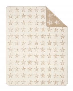 Jacquard Decke Sorrento 150x200 cm beige/camel