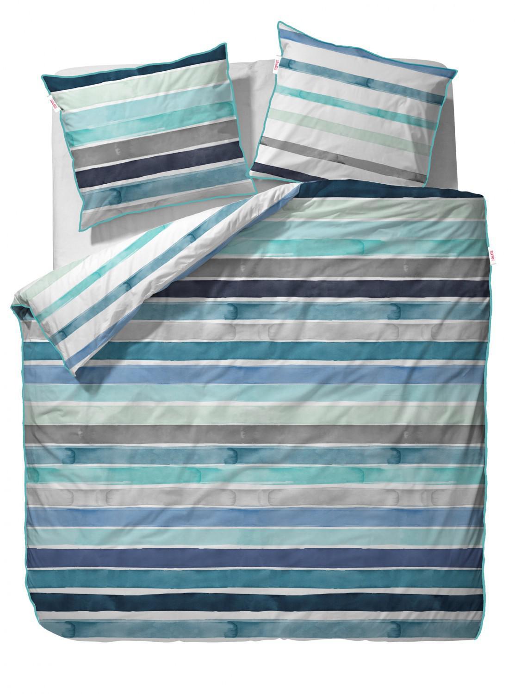 esprit baumwoll satin bettw sche iva blue kaufen bei. Black Bedroom Furniture Sets. Home Design Ideas
