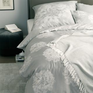Schöner Wohnen Bettwäsche Flora-B grau