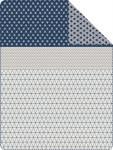 s.Oliver Jacquard Decke 0447-360 / 150 x 200 cm