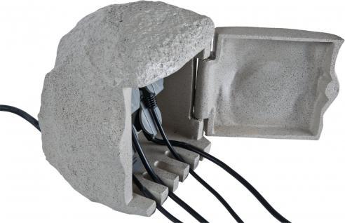 ENERGY STONE small - 4-fach Außensteckdose Gartensteckdose - Vorschau 2