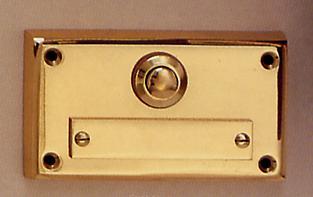 Messing Aufputzklingelplatten MK-1005 / MK-1006, Messing Klingelschild, Aufputzklingel, Aufputz-Klingel, Aufputz-Klingelplatte, Aufputztürklingel,