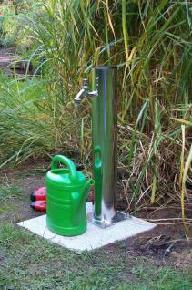 Edelstahl Wassersäule NEPTUN / Wasserzapfsäule Zapfsäule Zapfstelle