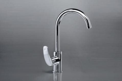 Kitchen mixer with side handle ANGELO