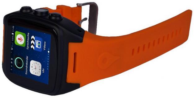 enox orange wsp88 3g android smartwatch smartphone handyuhr sim karte wlan kamera gps navigation. Black Bedroom Furniture Sets. Home Design Ideas