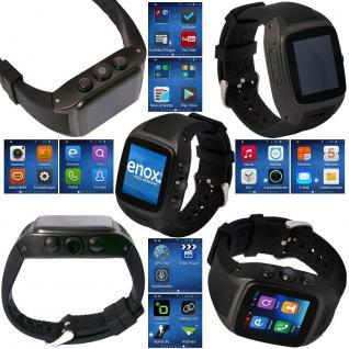 enox wsp88 3g android smartwatch smartphone handyuhr sim. Black Bedroom Furniture Sets. Home Design Ideas