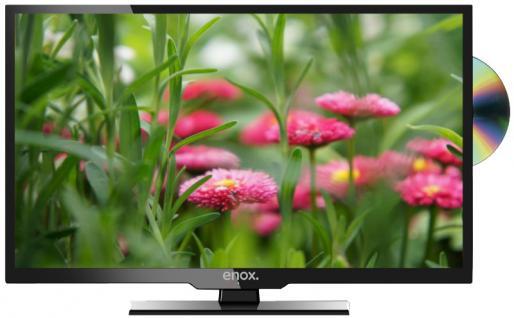 "Enox LL-0119ST2 19"" 47cm LED TV 12V 24V Fernseher Luxury Line Serie DVD Player DVB-S2 DVB-T2 DVB-T Bluetooth - Vorschau 1"