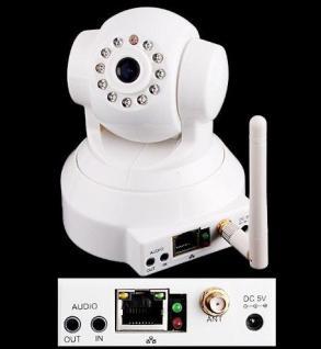 Foscam F18 IP Netzwerk WLAN Kamera Nachtsicht Überwachungskamera - Vorschau 3