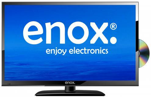 """Enox LL-0222ST2 22"""" LED TV 12V 24V FULL HD Fernseher Luxury Line Serie DVD Player DVB-S2 DVB-T2 - Vorschau 1"""