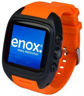 Enox ORANGE WSP88 3G Android Smartwatch Smartphone Handyuhr SIM Karte WLAN Kamera GPS Navigation Bluetooth - Vorschau 1