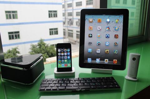 ENOX KeyFold KFB100 Wireless Bluetooth Keyboard Tastatur für iPhone iOS Android Tablet PC Smart TV - Vorschau 5