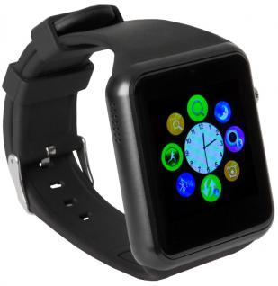 enox swp22 smartwatch handyuhr armbanduhr smartphone sim karte bluetooth sw kaufen bei zazmoda. Black Bedroom Furniture Sets. Home Design Ideas