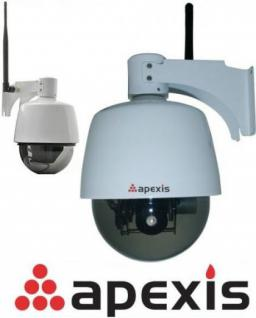 Apexis J901 IP Netzwerk Dome Kamera WLAN Funk Zoom PTZ Bewegungsmelder