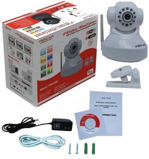 Foscam F18 IP Netzwerk WLAN Kamera Nachtsicht Überwachungskamera - Vorschau 4