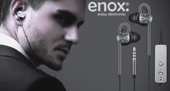 ENOX Masterpiece 1 Active Noise Cancelling In-Ear Kopfhörer High-Performance Geräuschreduzierung - Vorschau 1
