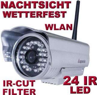 Apexis J233 IR Cut IP Netzwerk Kamera Nachtsicht Wetterfest Aussen