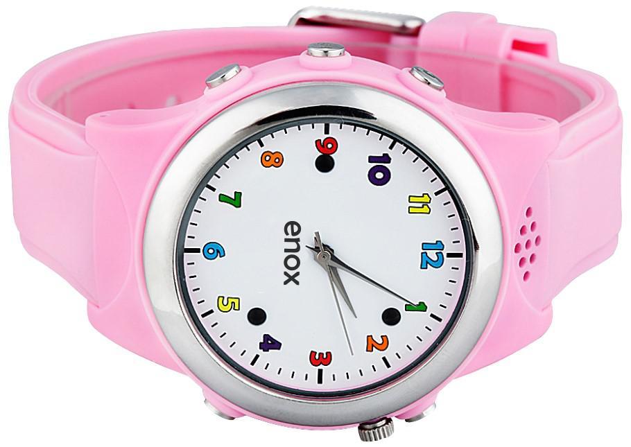 enox safe kid one kinderuhr smartwatch gps tracker. Black Bedroom Furniture Sets. Home Design Ideas