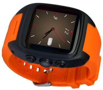 Enox ORANGE WSP88 3G Android Smartwatch Smartphone Handyuhr SIM Karte WLAN Kamera GPS Navigation Bluetooth - Vorschau 4