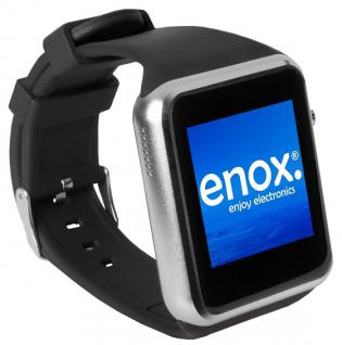 Enox SWP22 Smartwatch Handyuhr Armbanduhr Smartphone SIM Karte Bluetooth SI - Vorschau 1