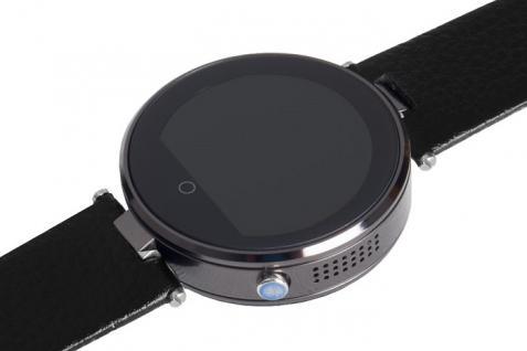 Enox RSW55 Bluetooth 4.0 Smartwatch rund Handyuhr kompatibel mit iOS Android SW - Vorschau 2
