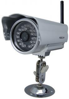 Foscam F04 IP Netzwerk WLAN Kamera Nachtsicht Aussnekamera