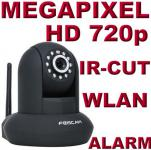 Foscam F21 IP Netzwerk 1 Megapixel WLAN HD Kamera IR Nachtsicht