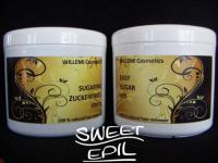 WILLEMI Set je 500g Zuckerpaste + Easy Sugar