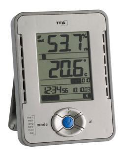 Datenlogger für Temperatur und Feuchte