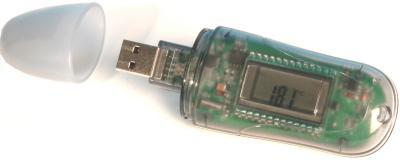 Datenlogger für Temperatur, 16000 Messwerte - Vorschau