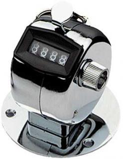 Mechanischer Tischzähler, Anzeige bis 9999