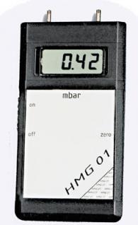 0...500 mbar Differenzdruck-Handmessgerät