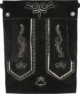 Trendige Trachten Tasche Tablettasche für Pad Tablett echtes Leder Wildleder