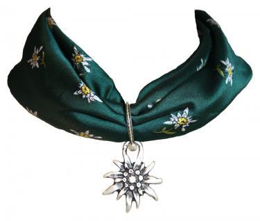Wunderschöner Trachtenanhänger aus Metall, Edelweißblüte