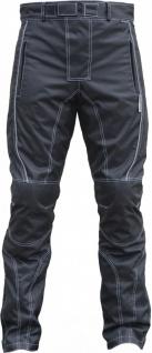 Herren Motorradhose Textilien Motorrad Hose Kombihose Schwarz