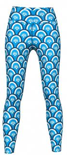 Beauty Leggings sehr dehnbar für Sport, Gymnastik, Training & Fashion Blau 1