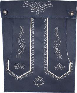 Trendige Trachten Tasche Tablettasche für iPad Tab Tablett Leder-Imitat