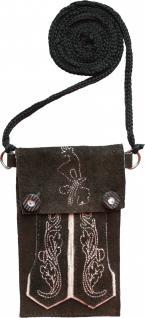 Trendige Trachten Handytasche für Iphone handy Leder tasche