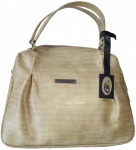 Damen Lederhandtasche Ledertasche Handtasche Tasche Tragetasche echtleder beige