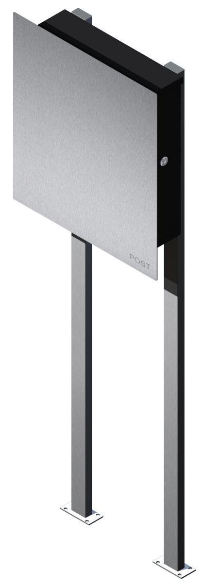 briefkasten edelstahl freistehend kaufen bei ines bunk und susan richter gbr. Black Bedroom Furniture Sets. Home Design Ideas