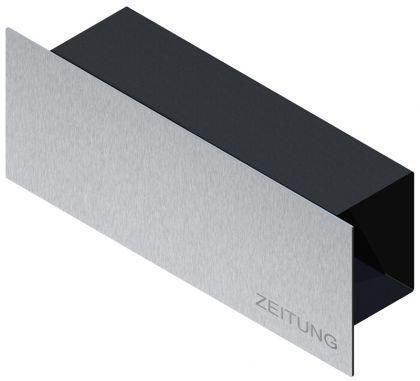 zeitungsbox edelstahl kaufen bei ines bunk und susan richter gbr. Black Bedroom Furniture Sets. Home Design Ideas