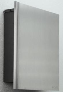 Briefkasten Edelstahl Zeitungsbox - Vorschau 4
