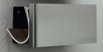 Briefkasten Edelstahl Zeitungsbox - Vorschau 3