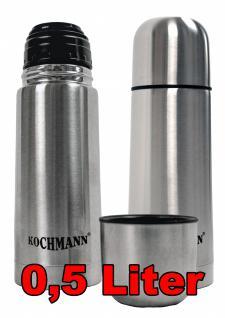 Thermoskanne Isolierkanne 0, 5 Liter Thermos Isolier Kanne Flasche Isolierflasche