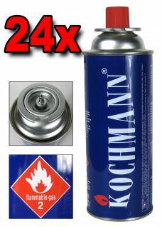 24 x Gaskartuschen MSF- 1A für Gaskocher Campingkocher 227g. Gaskartusche