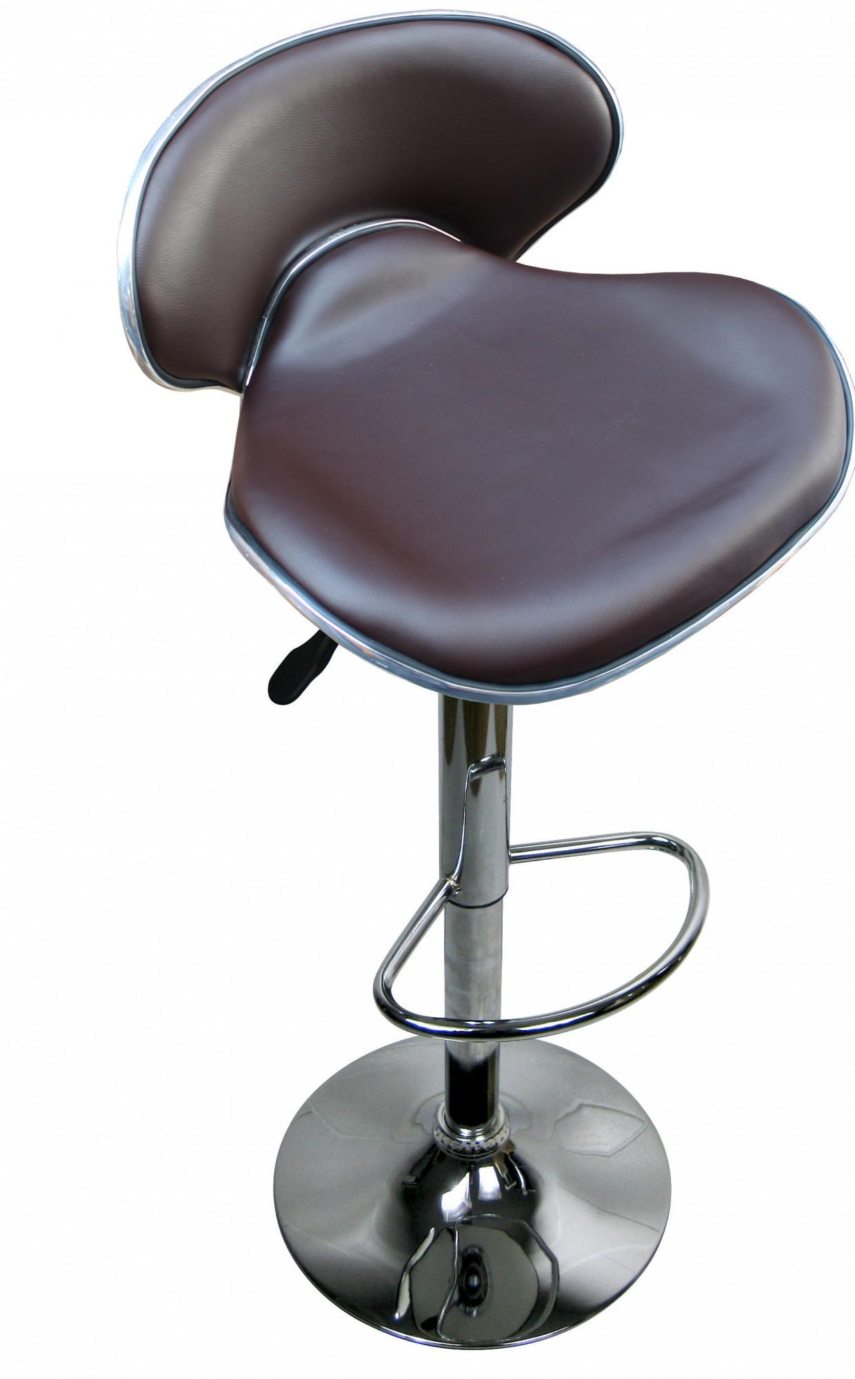 designer barhocker bar hocker stuhl barstuhl tresen m7 braun mit lehne neu ovp kaufen bei. Black Bedroom Furniture Sets. Home Design Ideas
