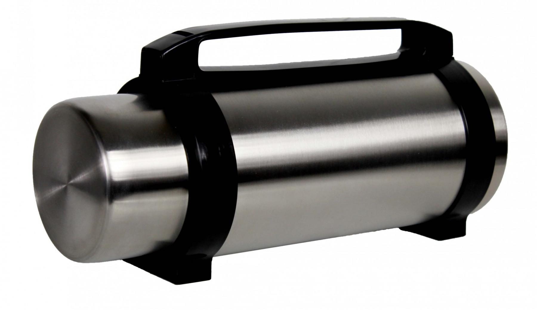 reise thermoskanne mit griff 2 5 liter neu ovp thermosflasche isolierkanne isolierflasche. Black Bedroom Furniture Sets. Home Design Ideas