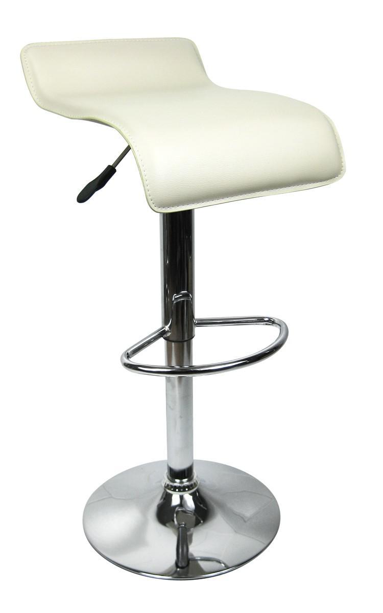 designer barhocker bar hocker stuhl barstuhl tresen m6 cr me mit lehne neu ovp kaufen bei. Black Bedroom Furniture Sets. Home Design Ideas