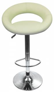 Design Barhocker Bar Hocker Stuhl Barstuhl Tresen M4 Créme mit Lehne NEU & OVP