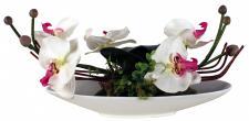 Kunstblume in Schale, Deko, Seidenblume, Blumen, künstliche Blume, Kunstpflanze B1007
